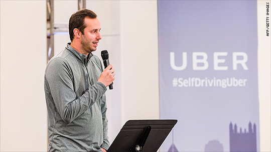 Uber self-driving car exec steps aside amid lawsuit