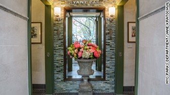 bryant park rr entryway