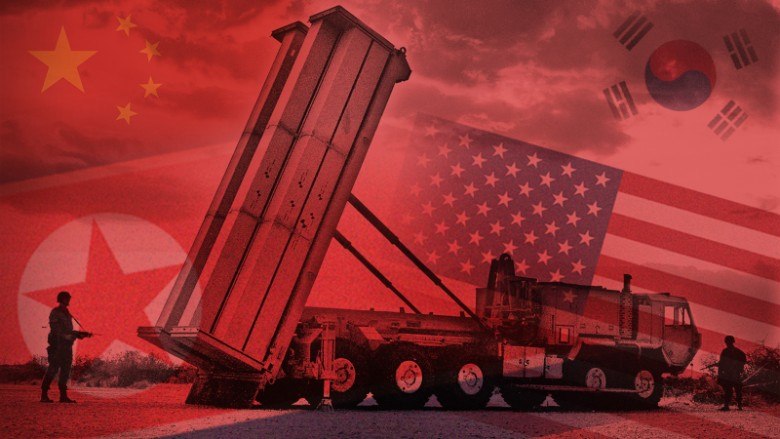 China US North South Korea Thaad tease