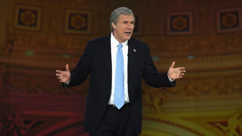 Will Ferrell returns as Bush at 'Not the White House Correspondents' Dinner'