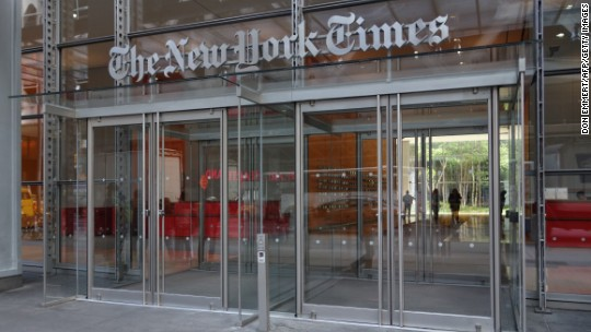 Showtime making documentary on NYT in age of Trump