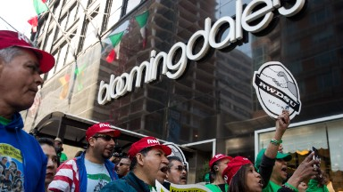 Workers at Bloomingdale's flagship store narrowly avoid a strike