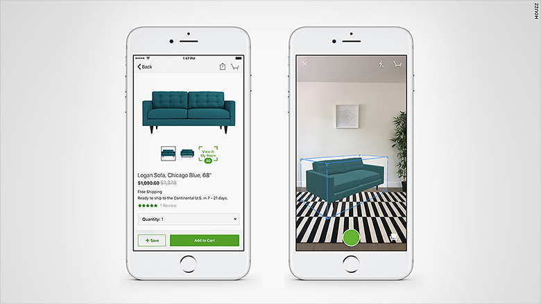 houzz 3d shopping