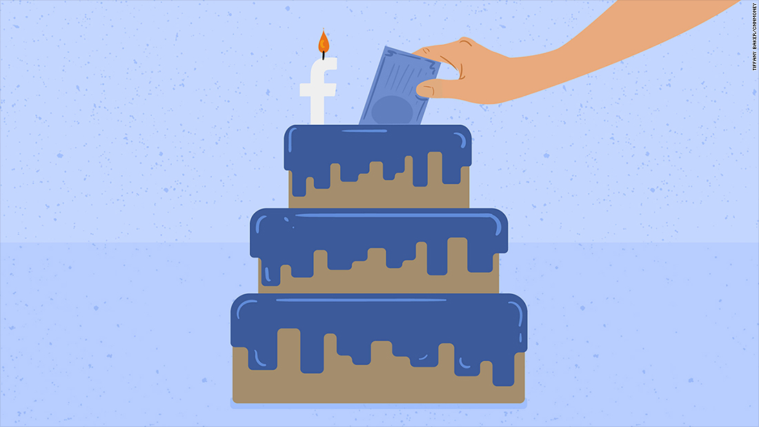 Facebook Wants You To Say Happy Birthday With A Donation