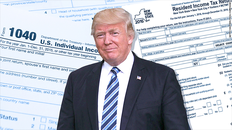 TRUMP Act would put Trump's NYS tax returns online