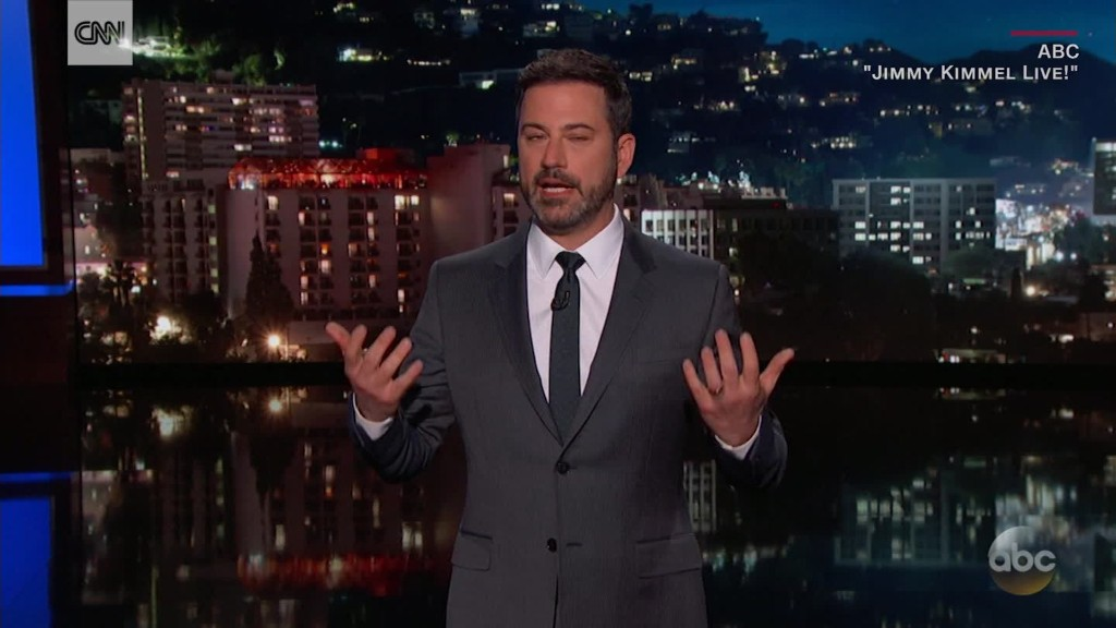Jimmy Kimmel fires back after emotional plea