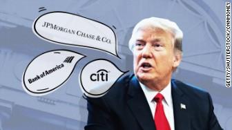 trump big banks