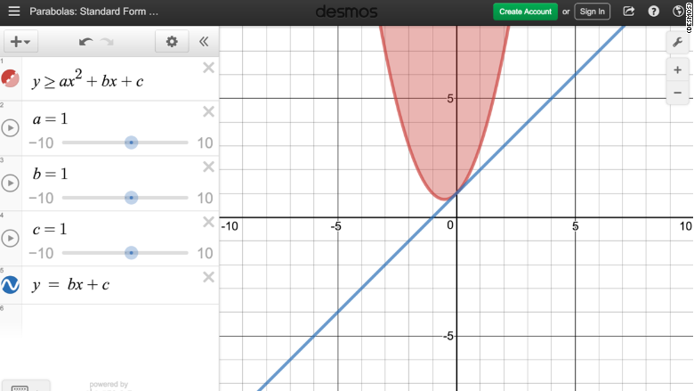 desmos 2. Using a digital calculator does more than save money, it also  allows more nuance in how testing is conducted. The calculator can be made  available ...