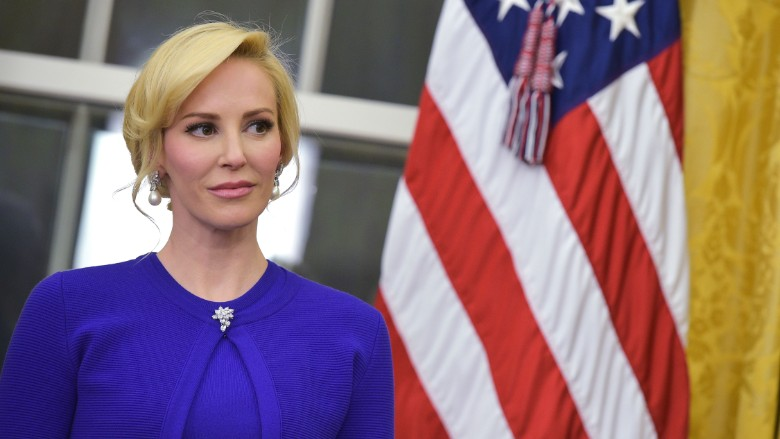 Treasury secretary's fiancée to resign from Hollywood CEO job after senator's criticism