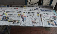Newspapers are thriving in this country