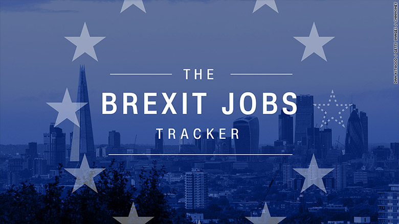 brexit jobs tracker