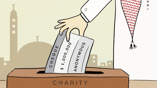 Rich Arabs quietly give away billions to charity