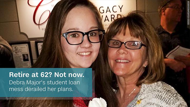 student debt debra major
