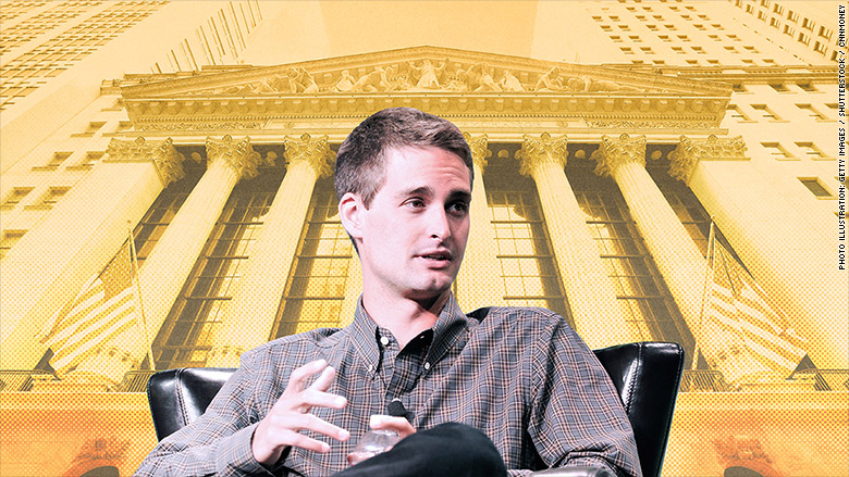 Wall street finally meets snapchat 39 s 5 billion man for Spiegel young money