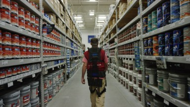 These Lowe's employees are now wearing exoskeletons to work