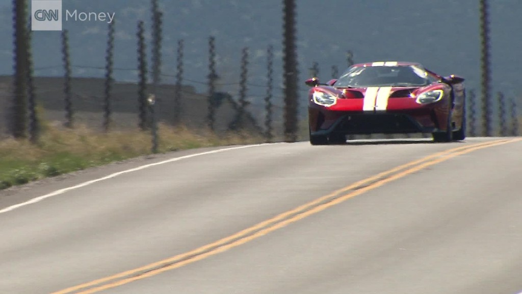 Driving Ford's supercar for the few