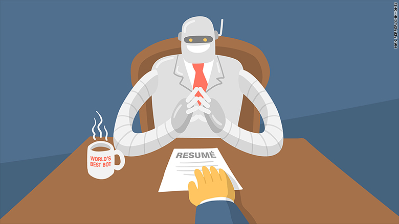 robot recruiter