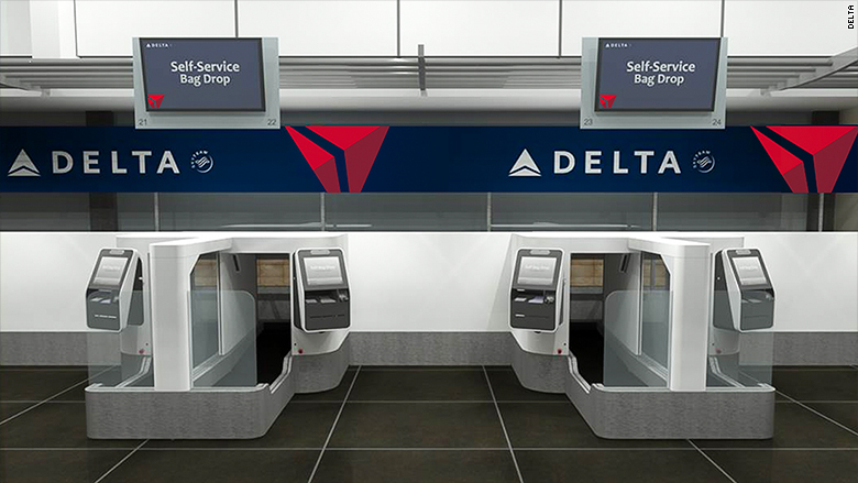 delta biometric luggage