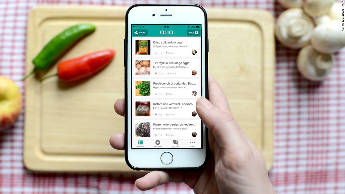 This app is fighting food waste and offering free meals
