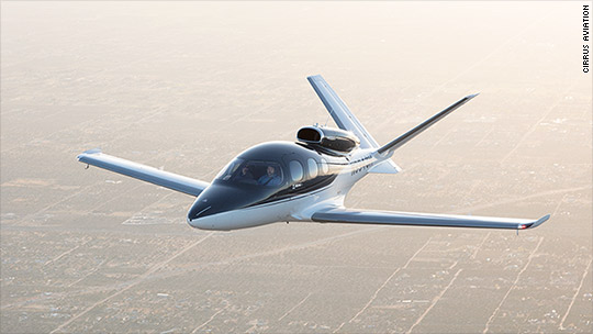 I flew the newest personal jet. It costs $2 million, parachute included