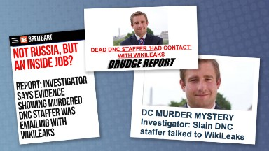 Story on DNC staffer's murder dominated conservative media -- hours later it fell apart