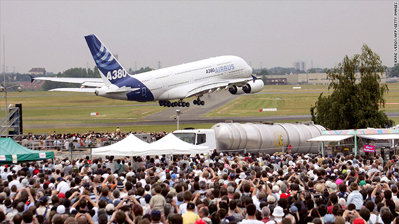 Boeing outsells Airbus at Paris Air Show