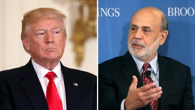 Bernanke on stability of White House: 'A reasonable concern'