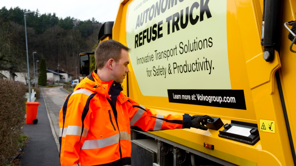 Self-driving garbage trucks would cut wasted time