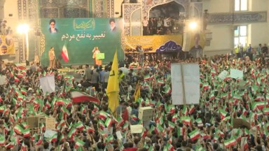 Economy at heart of Iran's election