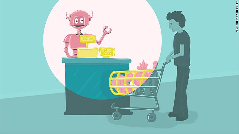 retail robots