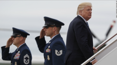 Why Trump's first foreign tour is unusual