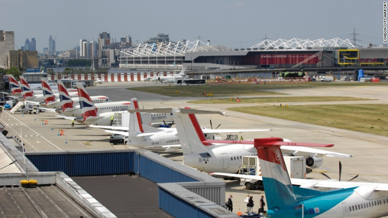 london city airport aviation airlines