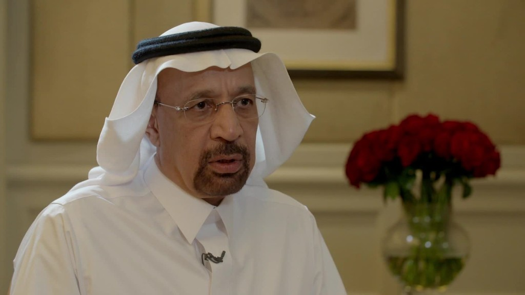 Saudi Energy Minister: U.S. - Saudi deals are for real