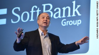 'SoftBank Group Representative Masayoshi Son' from the web at 'http://i2.cdn.turner.com/money/dam/assets/170522014153-softbank-group-representative-masayoshi-son-336x188.jpg'