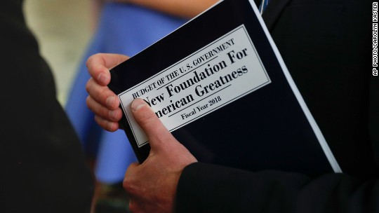 Trump's first budget: Trillions in cuts