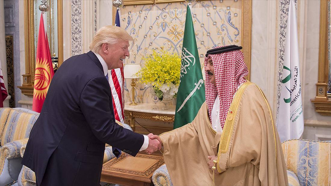 Defense stocks at record highs on Trump-Saudi deal