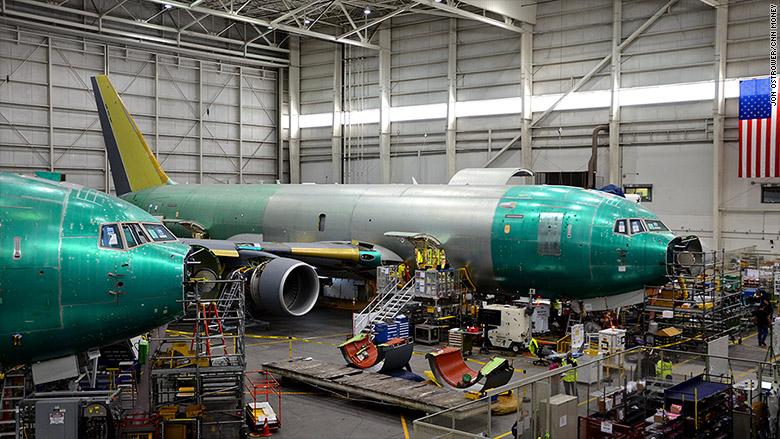 Boeing Kc-46 pegasus tanker factory