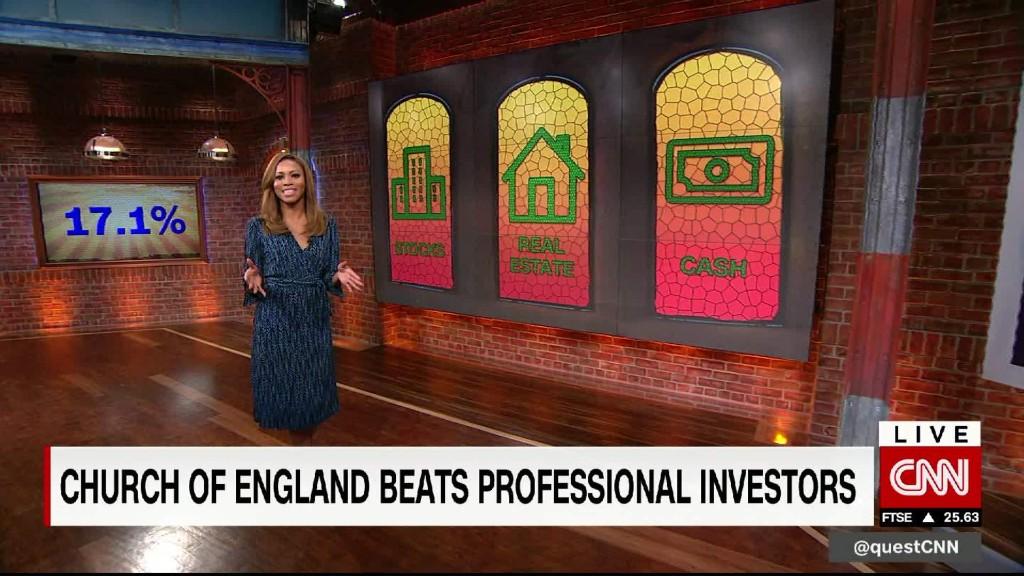 Church Of England beats professional investors