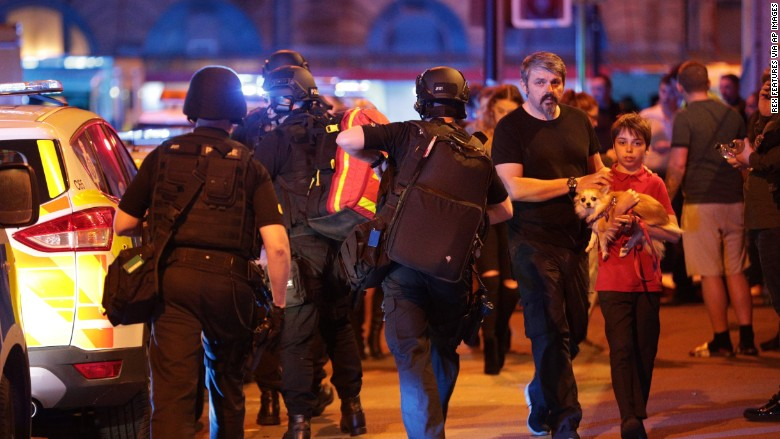 19 killed in Manchester Arena 'terrorist incident'