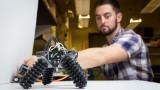 Thiis robot can take sunset walks on the beach
