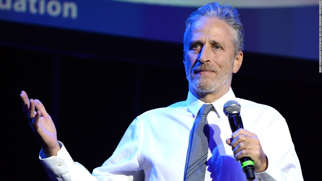 Jon Stewart 'stunned' by Louis C.K.'s sexual misconduct