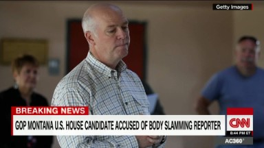 Guardian reporter accuses GOP candidate of 'body slamming' him