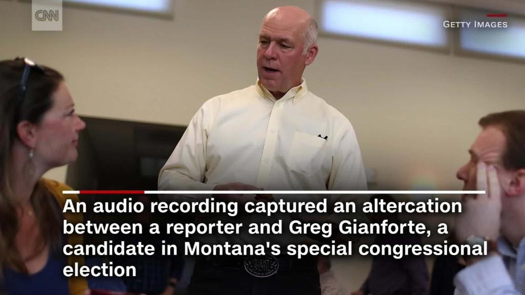 GOP candidate allegedly 'body slams' journalist