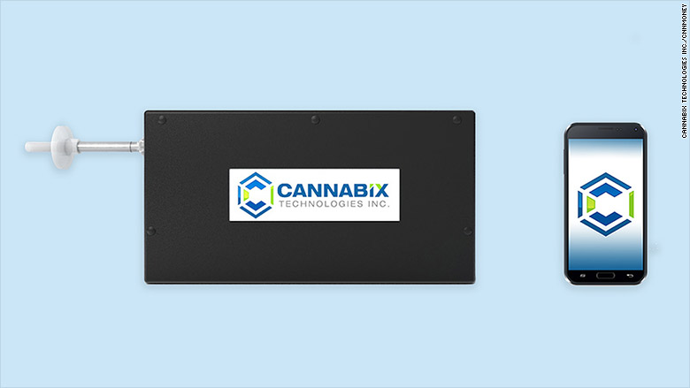 marijuana breathalyzer cannabix