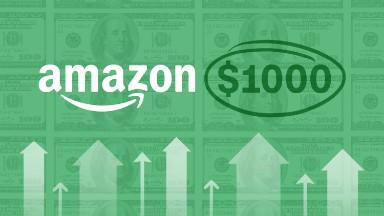Amazon stock tops $1,000