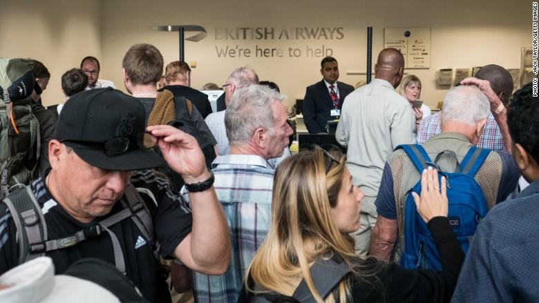 Computer meltdown may cost British Airways over $100 million