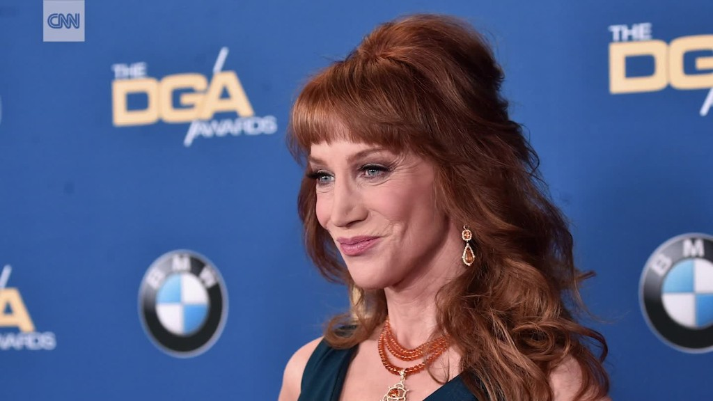 Kathy Griffin apologizes for anti-Trump photo