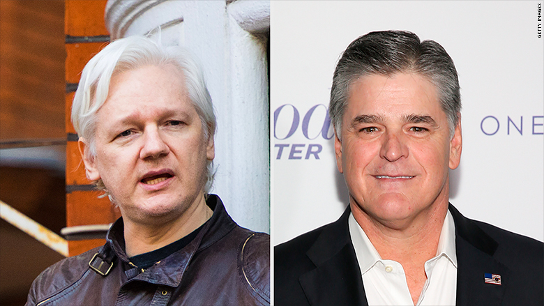 Wikileaks's Julian Assange May Guest Host Hannity Radio Show