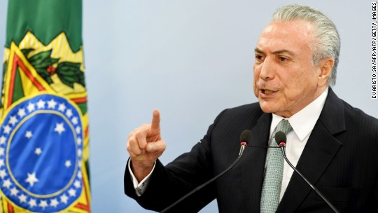 Brazil's president faces new corruption charges