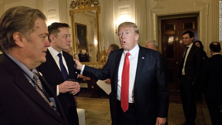 elon musk trump white house